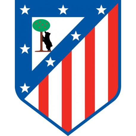 Vinilo escudo Atlético de Madrid color