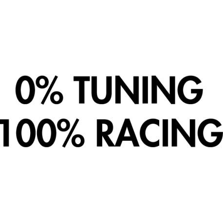 vinilo 100 Racing 0 tuning