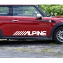 Pegatina Alpine