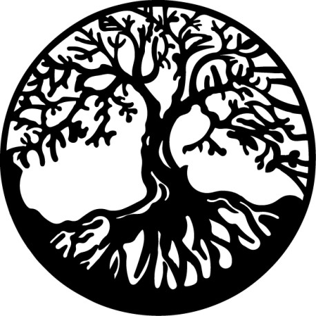 Vinilo decorativo árbol de la vida
