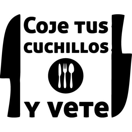 Vinilo texto Alberto Chicote