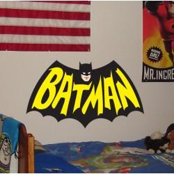 Vinilo decorativo Batman logo