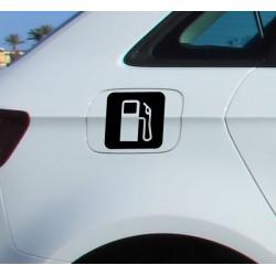 Pegatina icono gasolina
