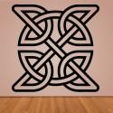 Vinilo cruz celta