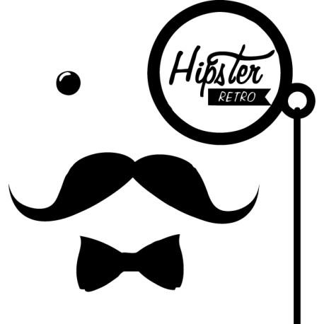 Vinilo hipster retro