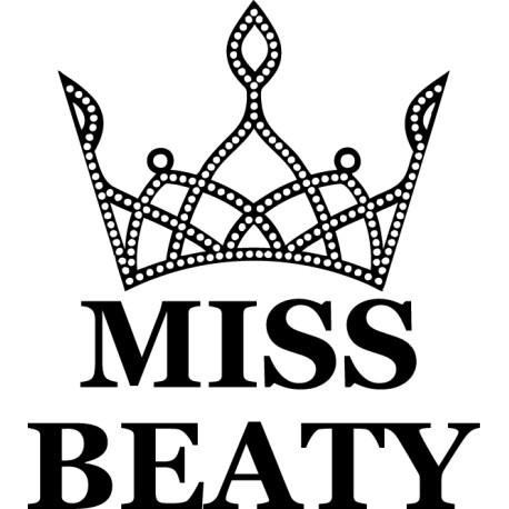 Vinilo espejo miss beaty