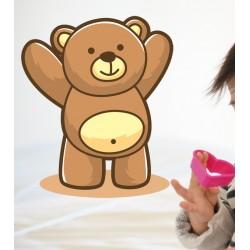 Vinilo oso abrazo