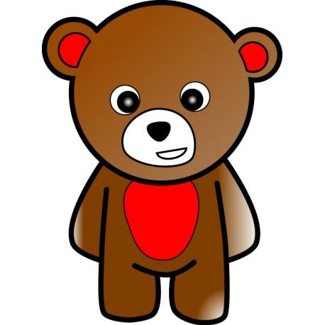Vinilo muñeco oso