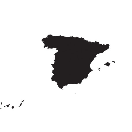 Vinilo mapa España