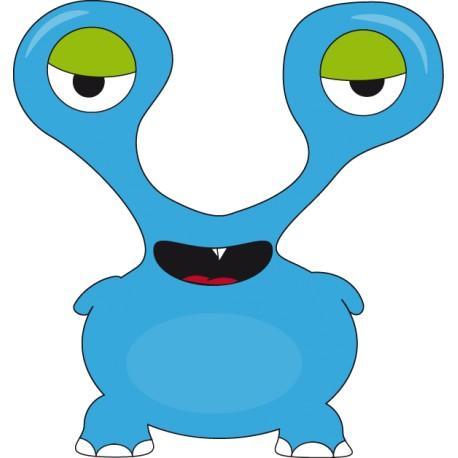 Vinilo monstruo azul