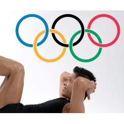 Vinilo anillas olímpicas