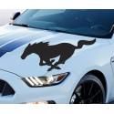 Adhesivo logo Mustang