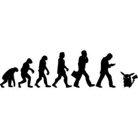 Vinilo evolución Pokémon