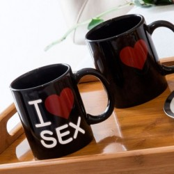 Taza mágica I Love Sex