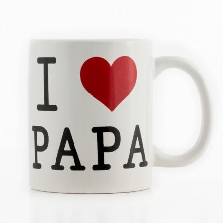 Taza I Love Papá