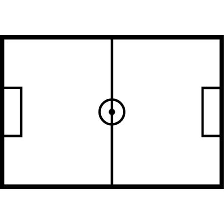 Vinilo campo fútbol