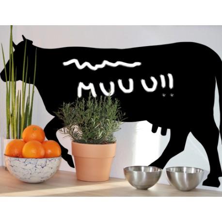 Vinilo pizarra vaca