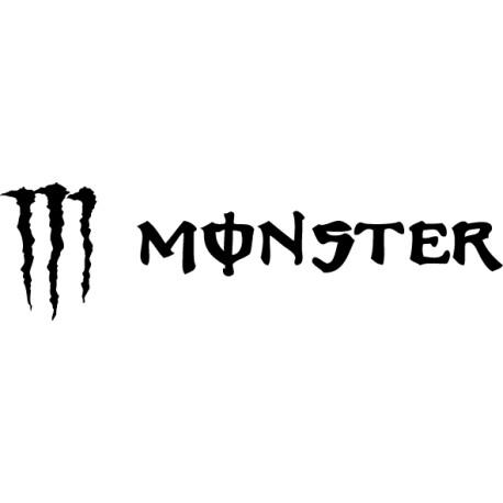 Vinilo Monster horizontal