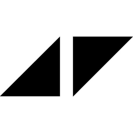 Pegatina portatil Avicii logo