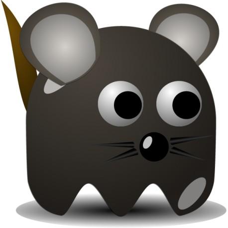 Vinilo decorativo ratón comecocos