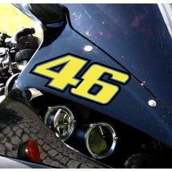 Pegatina 46 Rossi color