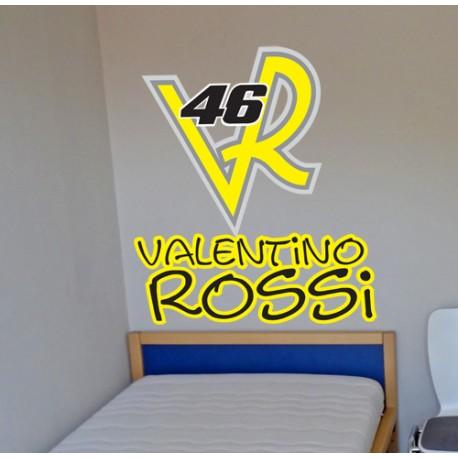 Vinilo decorativo cartel Rossi