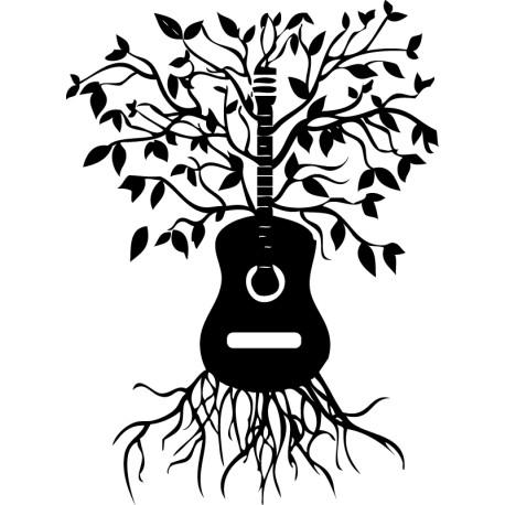 Vinilo guitarra de la vida