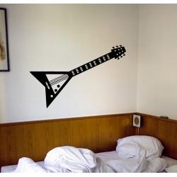 Vinilo decorativo guitarra eléctrica