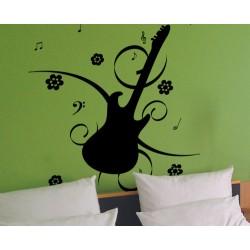 Vinilo guitarra musical