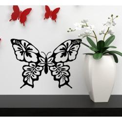 Vinilo mariposa