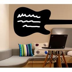 Vinilo pizarra guitarra
