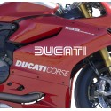 Pegatina Ducati histórico