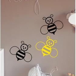 Vinilo abeja miel
