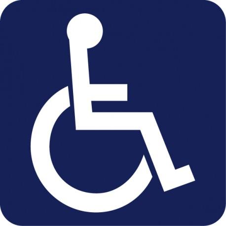 adhesivo discapacitado