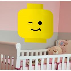 Vinilo cabeza Lego