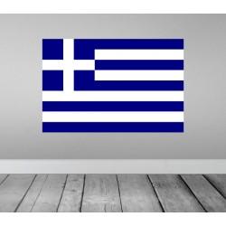 Vinilo bandera Grecia