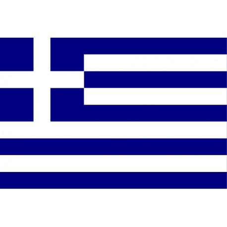 pegatina bandera Griega