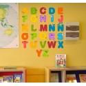 Vinilo infantil abecedario