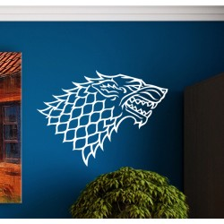Vinilo casa Stark