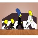 Vinilo Los Simpsons Abbey Road