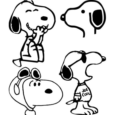Adhesivos Snoopy