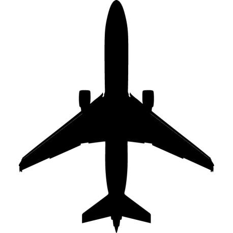 Vinilo avión pasajeros