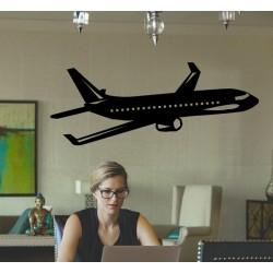 Vinilo avión comercial