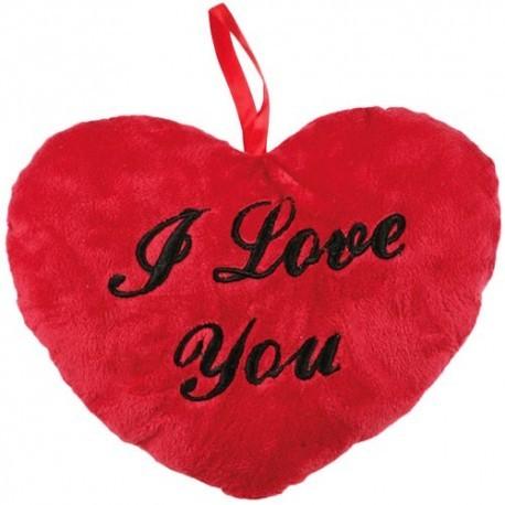 Cojín I Love You pequeño 10cm