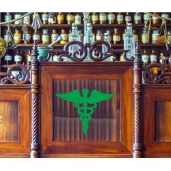 Vinilo logo medicina
