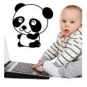 Vinilo infantil panda