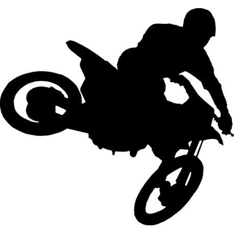 Vinilo motocross