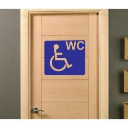 Pegatina lavabo discapacitados