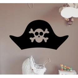 Vinilo infantil gorro pirata