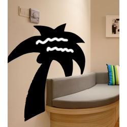 Vinilo pizarra palmera